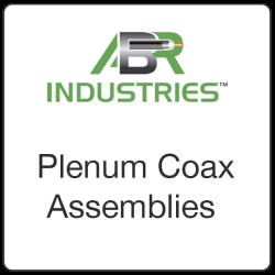 Plenum Coax Assemblies
